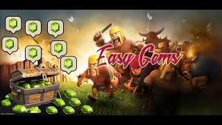 Clash Of Clans - Easy 100 gems! How i get free gems without using any hacks cheat !!