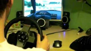 Logitech G27 Drifting with Live For Speed