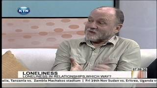 Lonliness in relationships with Chris Hart Watch KTN Streaming LIVE...