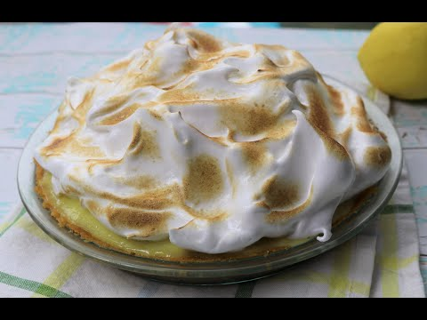 Chocolate Lemon Meringue Pie Recipe