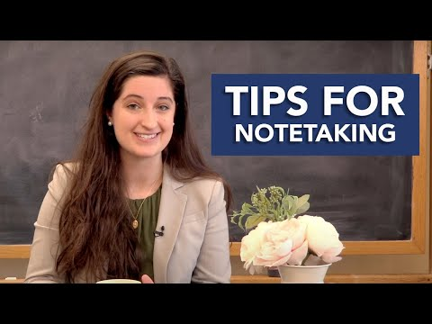 Tips for Notetaking  |  5 Challenges Freshmen Face Series w/ Maribeth Kelly