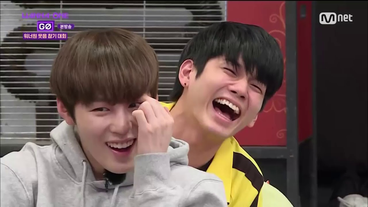 [Wanna One] Try Not To Laugh Challenge