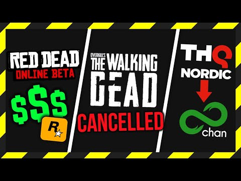 Walking Dead Game DISCONTINUED, Red Dead Microtransactions & THQ Nordic's 8chan AMA thumbnail