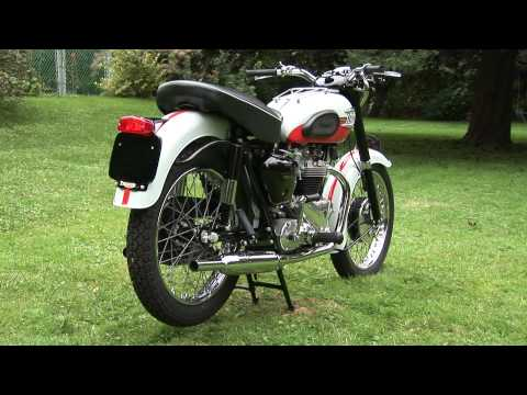 Memorable Mc 1960 Triumph Bonneville Arkwarsru