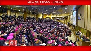 Papa Francesco – Discorso all' Apertura dell'Assemblea Generale della CEI 2019-05-20
