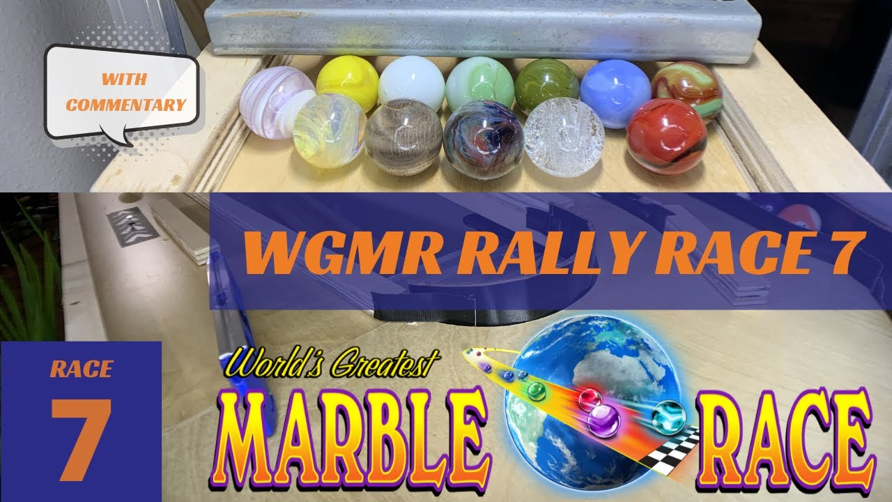 Marble Run- WGMR Marble Rally RACE 7