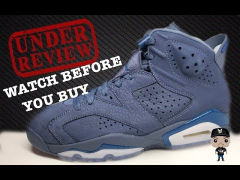 fb98a910ed2705 Air Jordan 6 Jimmy Butler Diffused Blue Retro Sneaker Detailed Review   sneakerhead  AirJordan