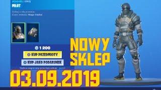 New Skin, Shop Fortnite-September 3, 2019