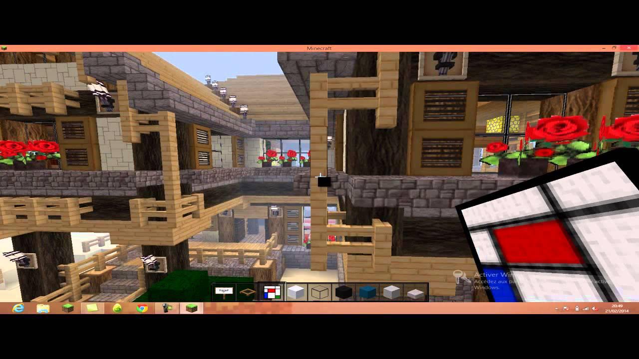 Decorer sa maison minecraft youtube - Decorer sa maison minecraft ...