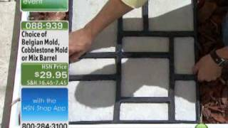 Pathmate Do-It-Yourself Cobblestone-Look Walkway Molds