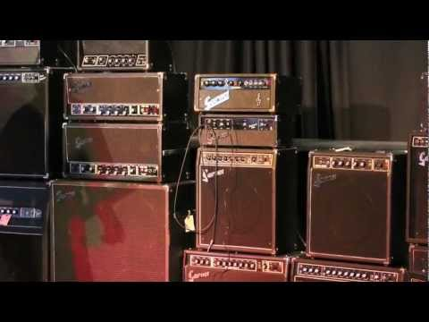 Garnet Amplifiers: A tour through the National Music Centre collection