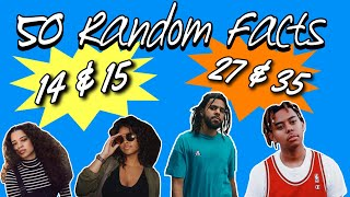 50 Random Facts About Me!!! - Get To Know Me