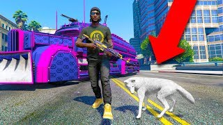 MY NEW PET IS ACTUALLY A... | GTA 5 THUG LIFE #236