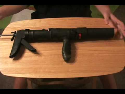 how to make a airsoft grenade launcher