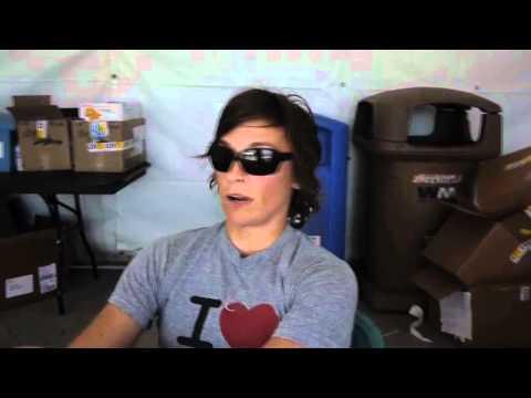 CrossFit - CrossFit Games Behind the Scenes - 2011: Angel and Justin Talk Games
