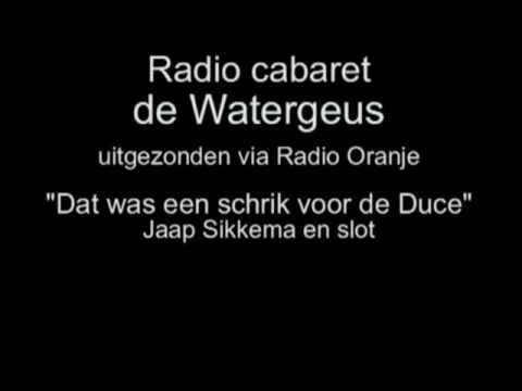 Radio Cabaret De Watergeus afl. 2 - Dat was een schrik voor de Duce
