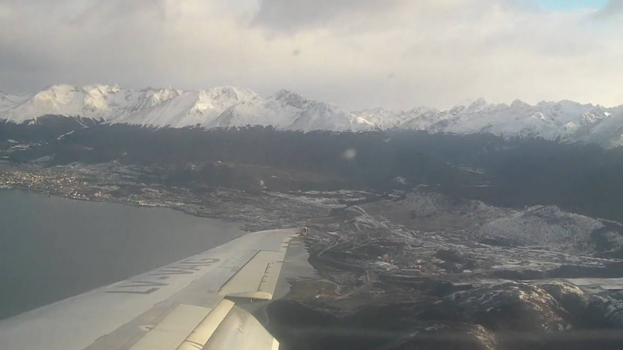 Aeroporto Ushuaia : Pouso aeroporto de ushuaia youtube