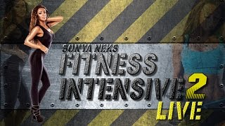 Fitness intensiv LIVE 2 with Sonya Neks