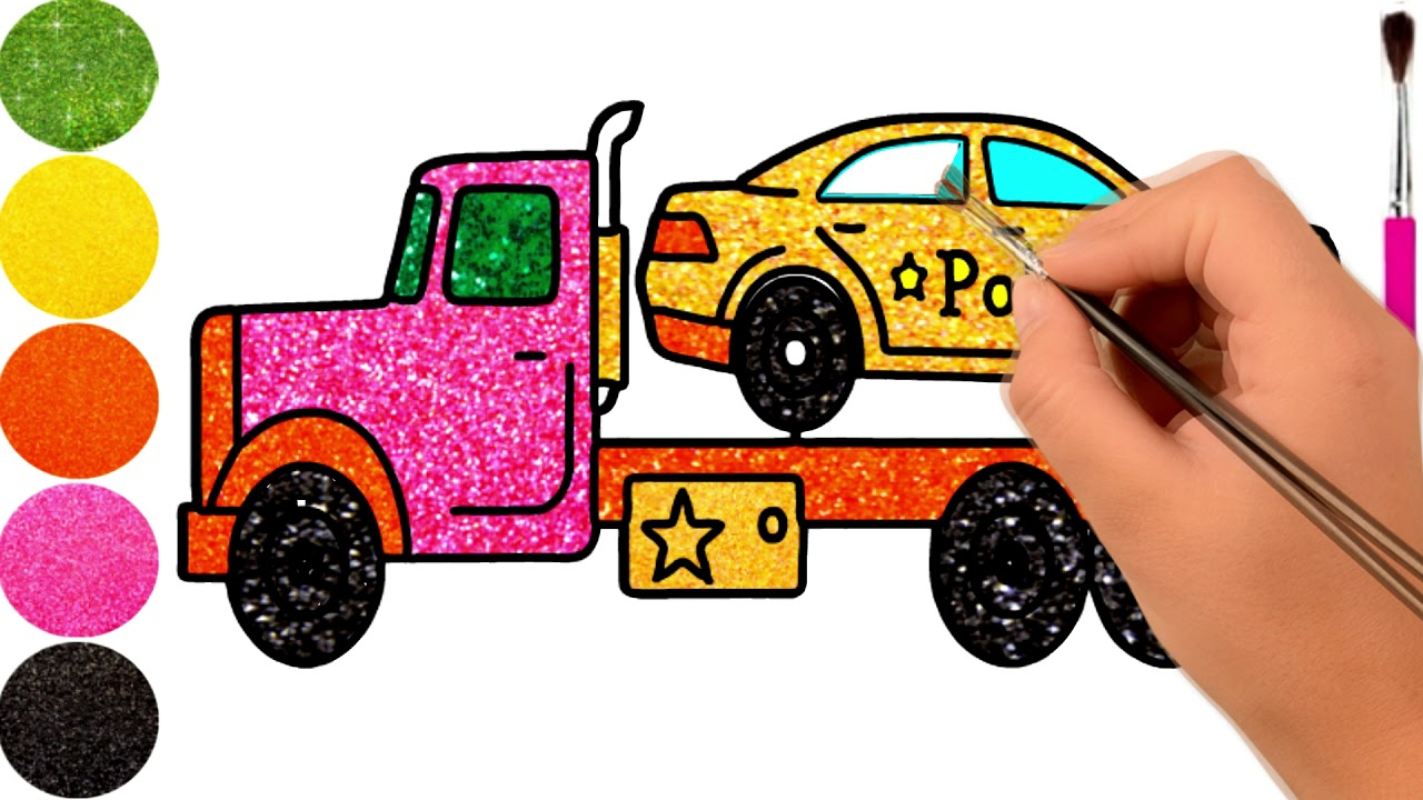 Car Coloring Pages For Toddlers Image Youtube