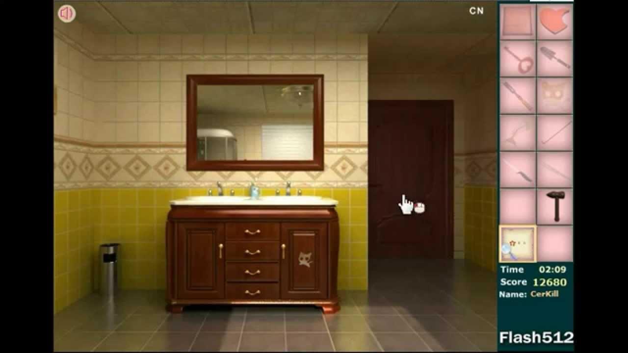 Flash512 S Fresh Bathroom Escape Walkthrough Youtube