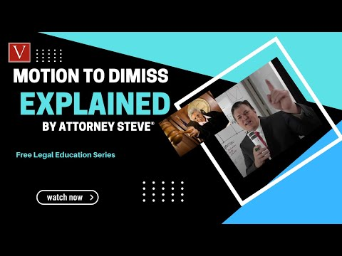 motion-to-dismiss-frcp12(b)-explained-by-attorney-steve