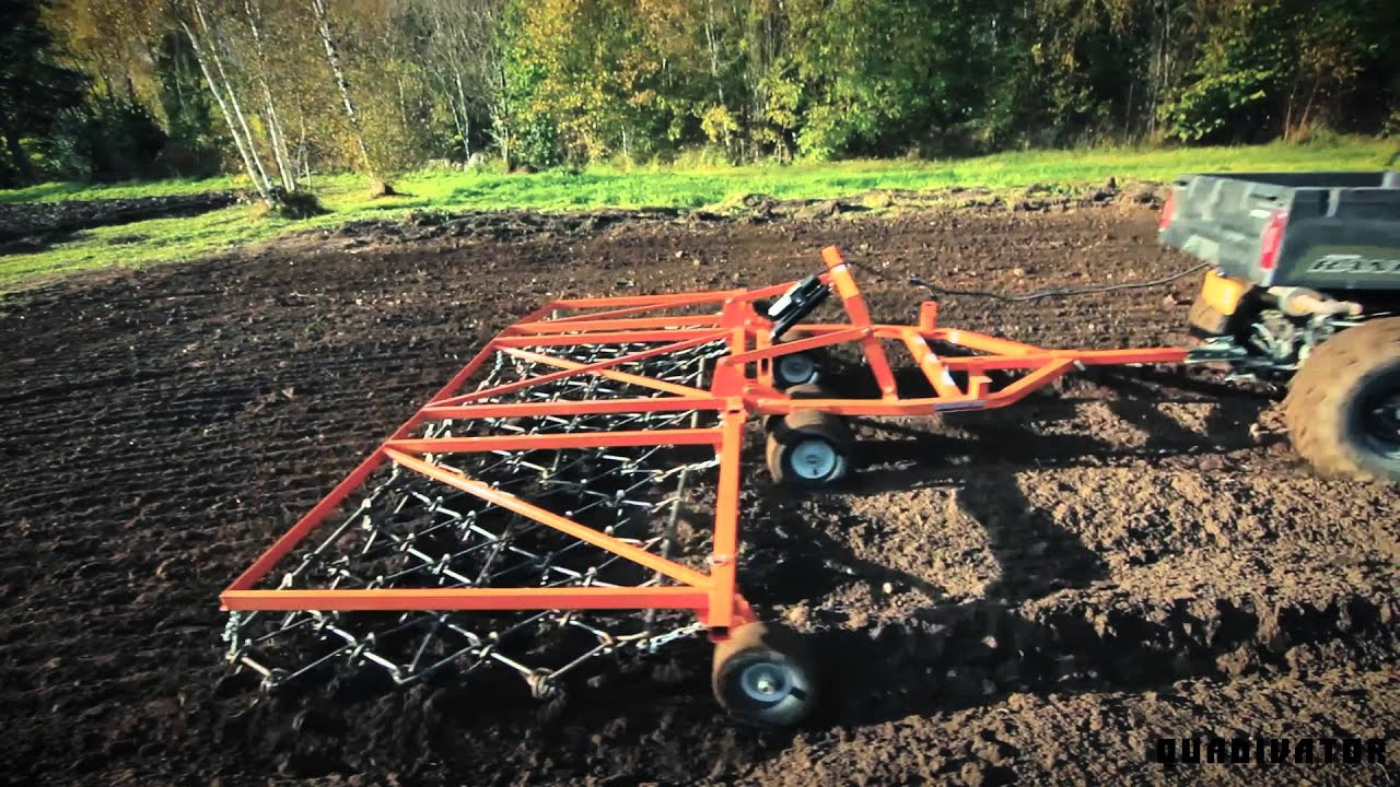 Utv Atv Drag Harrow Atv Amp Utv Accessories Youtube
