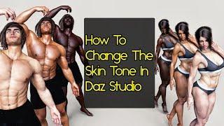 Daz Studio Skin Color - Advanced