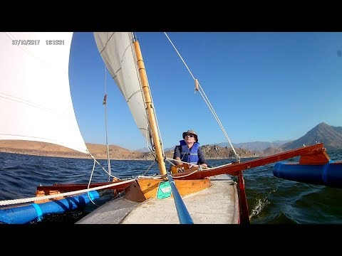 Klepper Kajak Sailing Lake Isabella 2017