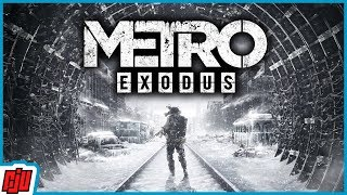 Metro Exodus Part 1 | FPS Horror Game | PC Gameplay Walkthrough