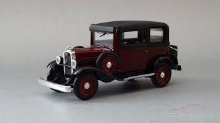 1932 Fiat 508 Balilla || RIO Models || Обзор масштабной модели 1:43