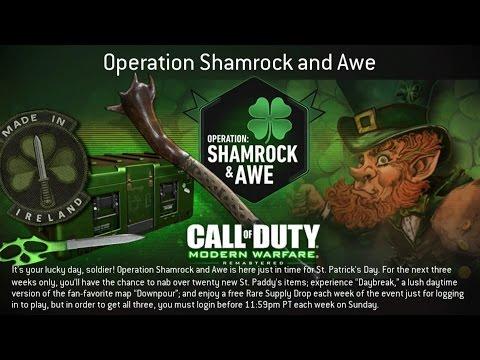 Depot Update [03/14/2017] - Operation Lion Strike // Shamrock & Awe (CoD:MWR)