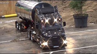 RC Truck Course / 1:8 / LKW Parcours  ♦ Modellbaumesse Erfurt 2015 + Leipzig 2014