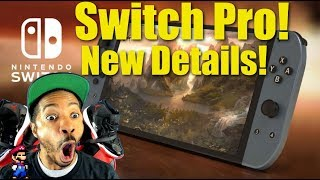 Nintendo Switch Pro New Details & Next Nintendo Direct!