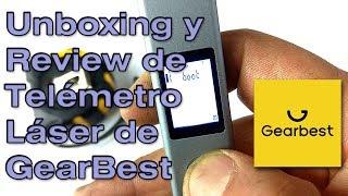 Unboxing & Review de Telémetro Láser de GearBest
