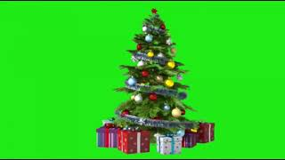 Green-Screen-Weihnachten-Frame , Santa Claus , Animierte Baum , Geschenk (Ds Desizn) free Download