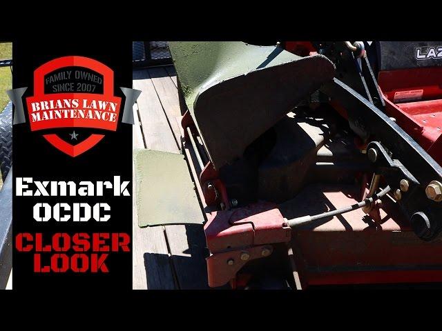 Lawn Care - Exmark Lazer Z X Series OCDC Chute Blocker - In