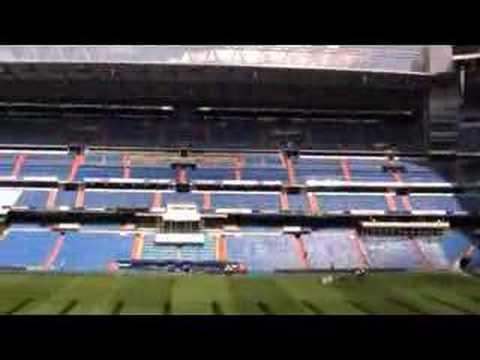 The Santiago Bernabeu Stadium, Madrid, 3rd June, 2008