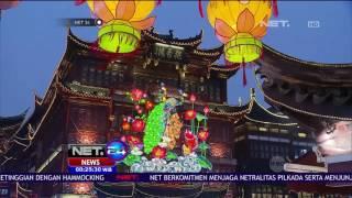 Kemeriahan Festival Shanghai Lighting Show Jelang  Tahun Baru Imlek - NET24