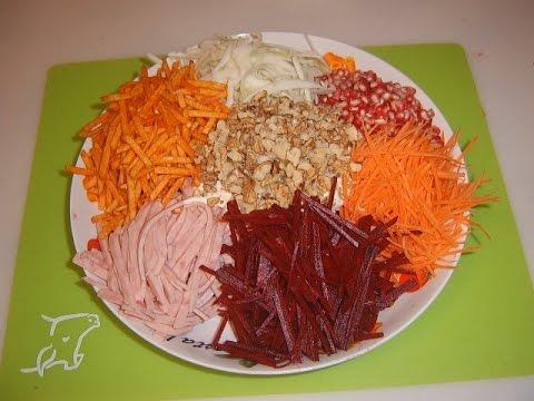 Салаты рецепты с фото простые и вкусные без майонеза на день