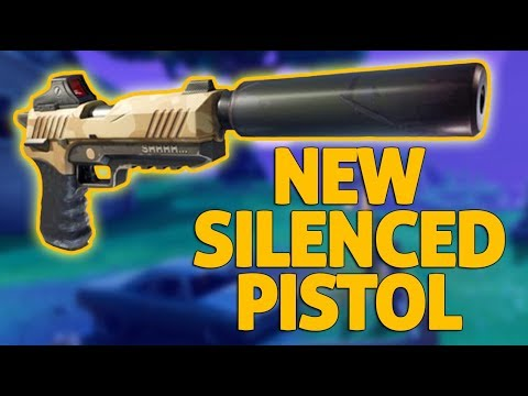 Download Trying Out The New Pistol! - Fortnite Gameplay - Ninja