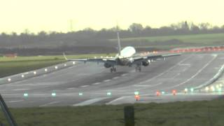 Another Windy Day at Birmingham Airport on Christmas Eve