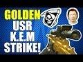COD Ghosts: Golden USR Quickscoping KEM Strike on Fog!