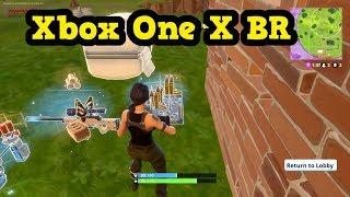 FORTNITE Battle Royale Xbox One X - SOLO WINS