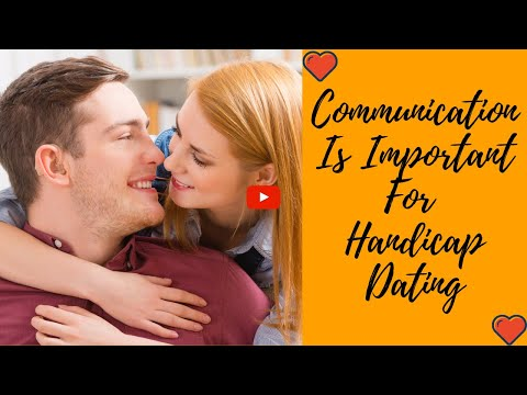 Communication Is Important For Handicap Dating