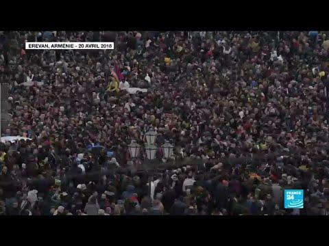 Retour en images sur la crise politique en Arménie