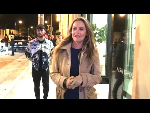 Alicia Silverstone And Friends Dine At Catch In West Hollywood
