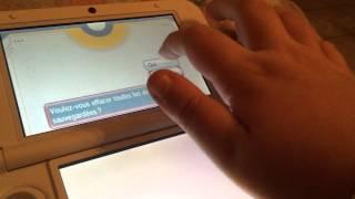 Tuto : Comment supprimer  une partie de pokemon Saphir Alpha