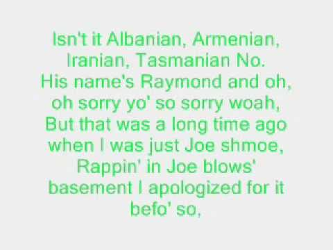 Armageddon - Eminem lyrics