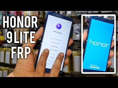 How To Honor 9 Lite Google Account Bypass | LLD AL10 Frp Remove Android 8.0