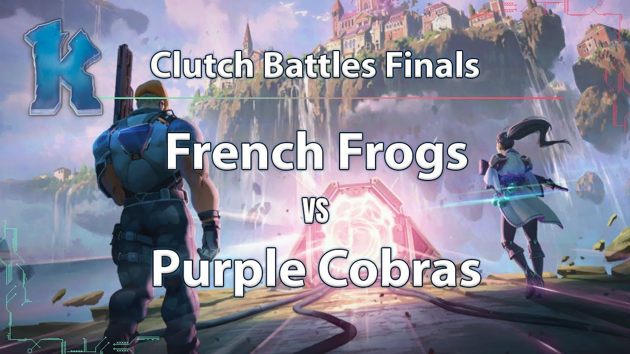 ► Valorant Esports: Purple Cobras vs. French Frogs - Clutch Battles Finals